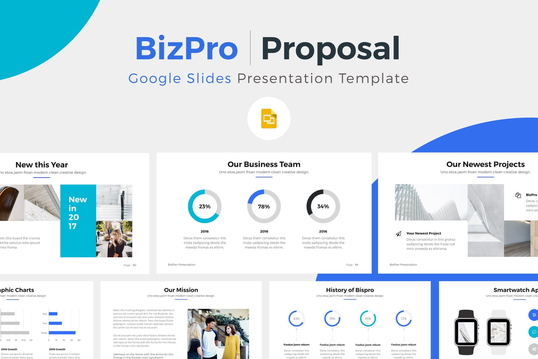 产品提案市场销售数据汇报BizPro Google Slide Presentation Template插图