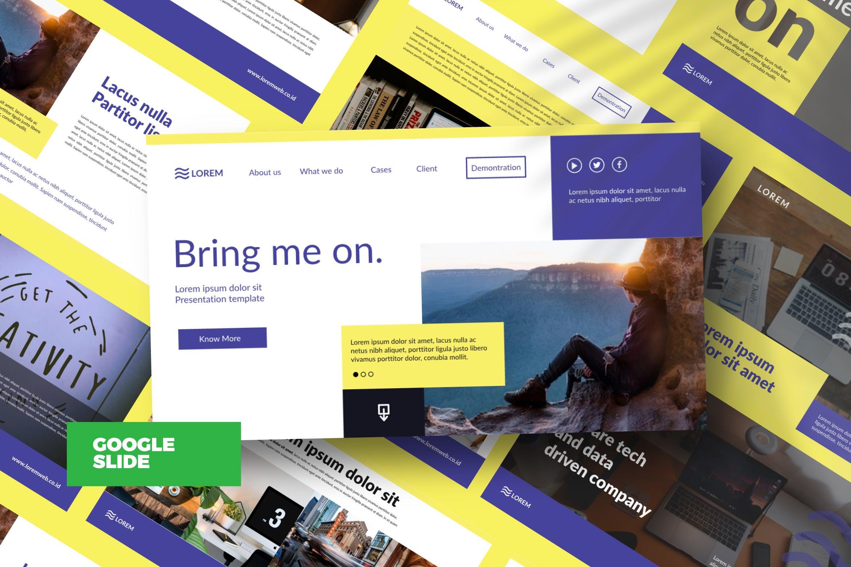 市政工程类项目汇报创意多用途模板设计PPT幻灯片模板Bringmeon Google Slide插图