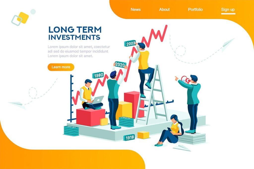 公司销售管理企业网站banenr广告图Company Management Infographic插图