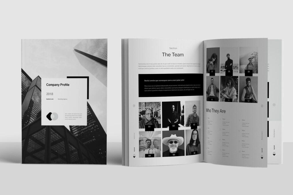 企业简介/产品介绍画册杂志模板素材Company Profile插图