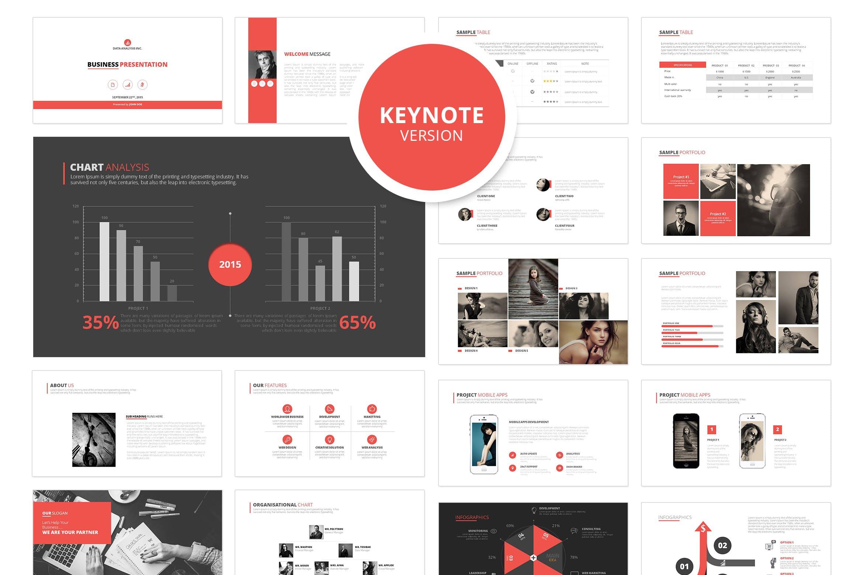 高端简洁企业现代主题演讲幻灯片模板下载Dukku Keynote插图