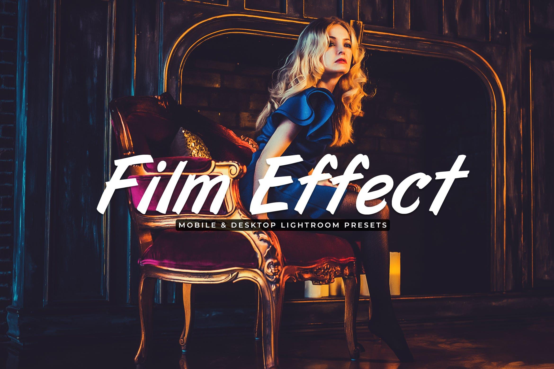 电影效果色调场景胶片效果处理LR预设Film Effect Mobile Desktop Lightroom Presets插图