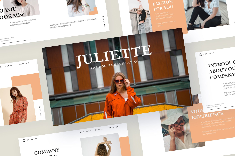 企业市场策划PPT幻灯片模板下载JULIETTE  Powerpoint Template插图