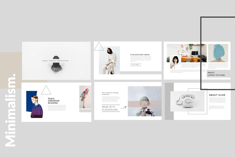 企业市场策划多用途PPT幻灯片模板Minimalism Clean Powerpoint插图