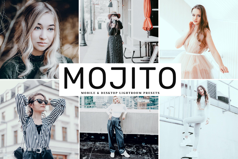 柔和滤镜调色LR调色预设Mojito Mobile Desktop Lightroom Presets插图