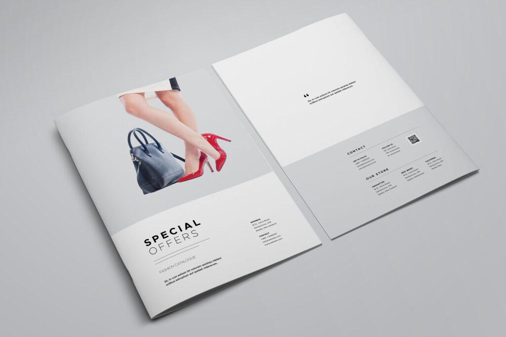 时尚服装/产品目录画册模板Product Catalog Template插图