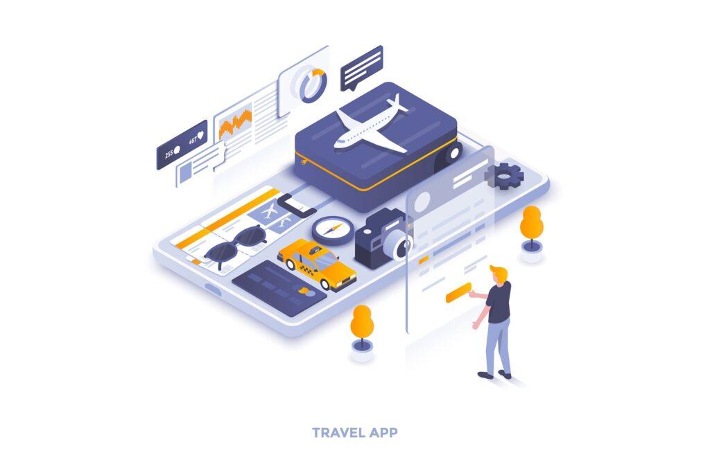 多场景应用主题扁平化插图创意设计Modern Flat design people and Business concepts 2插图(10)