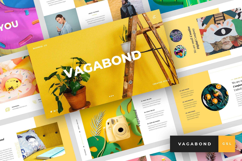 创意工作室案例介绍Vagabond Creative Business Google Slides插图