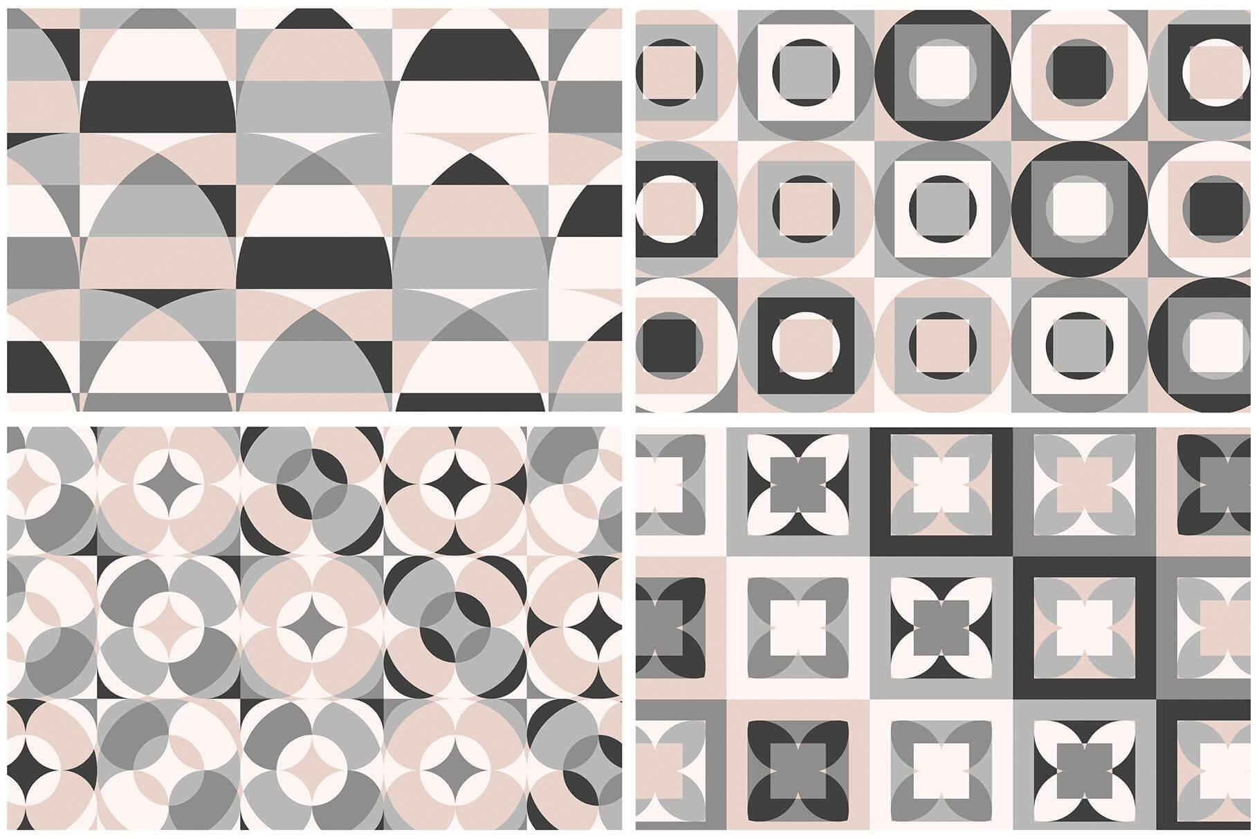 布艺面料装饰纹理图案花纹品牌辅助图形Geometric Play Patterns Tiles插图(9)
