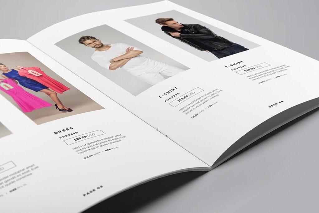 时尚服装/产品目录画册模板Product Catalog Template插图(9)