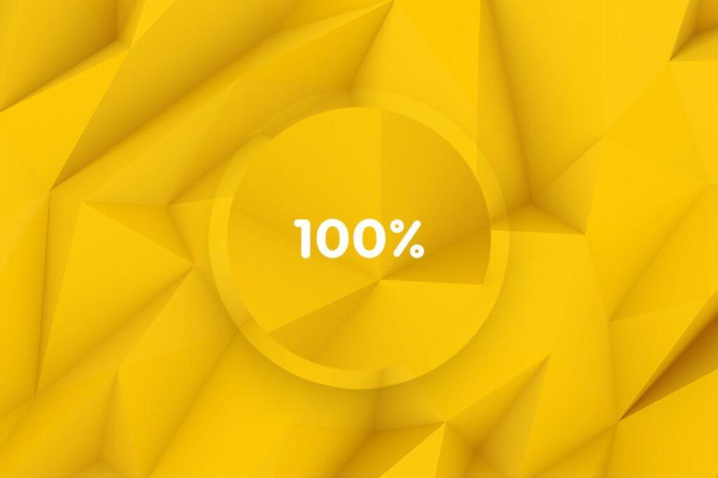 抽象简约几何构成背景高清图片下载Yellow Polygon Backgrounds插图(9)