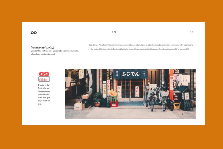 时尚潮流品牌提案PPT幻灯片模板Yong Google Slide插图(8)
