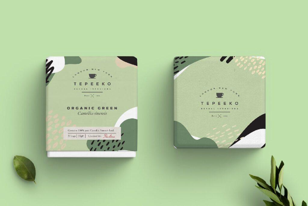 企业品牌装饰图案辅助图像素材花纹下载Creative Shape and Patterns Bundle插图(10)