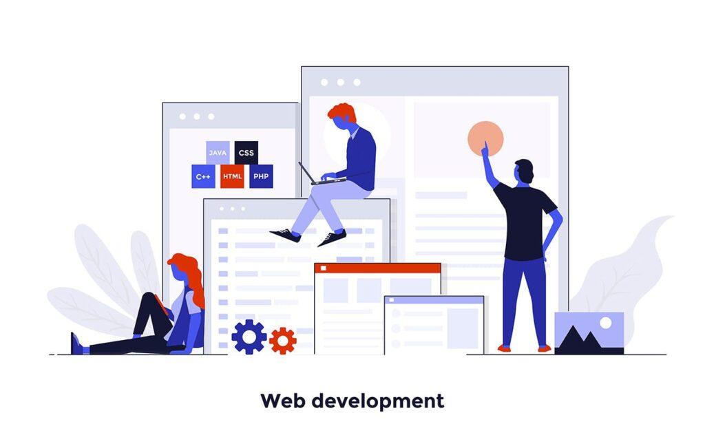现代扁平化的设计理念和经营理念网站插图Modern Flat Design People And Business Concepts Uz9yxc插图(10)