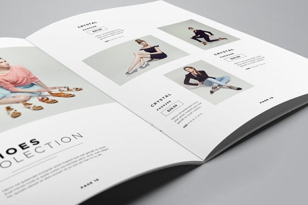 时尚服装/产品目录画册模板Product Catalog Template插图(10)