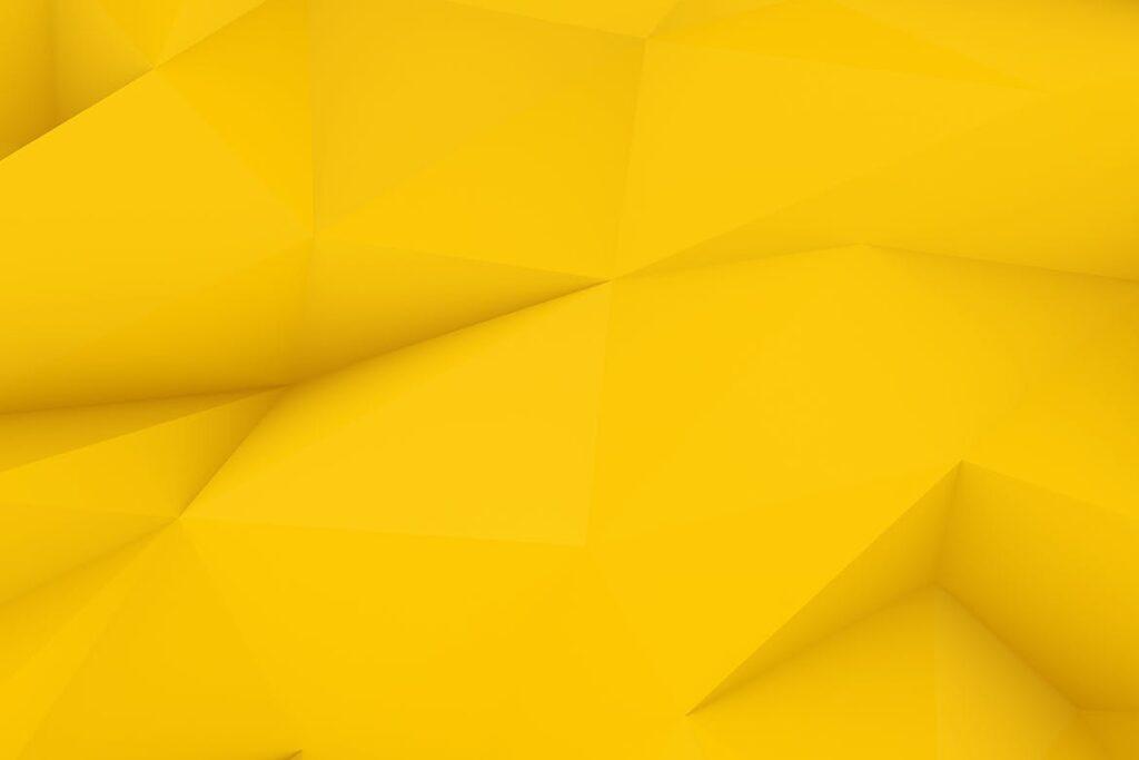 抽象简约几何构成背景高清图片下载Yellow Polygon Backgrounds插图(10)