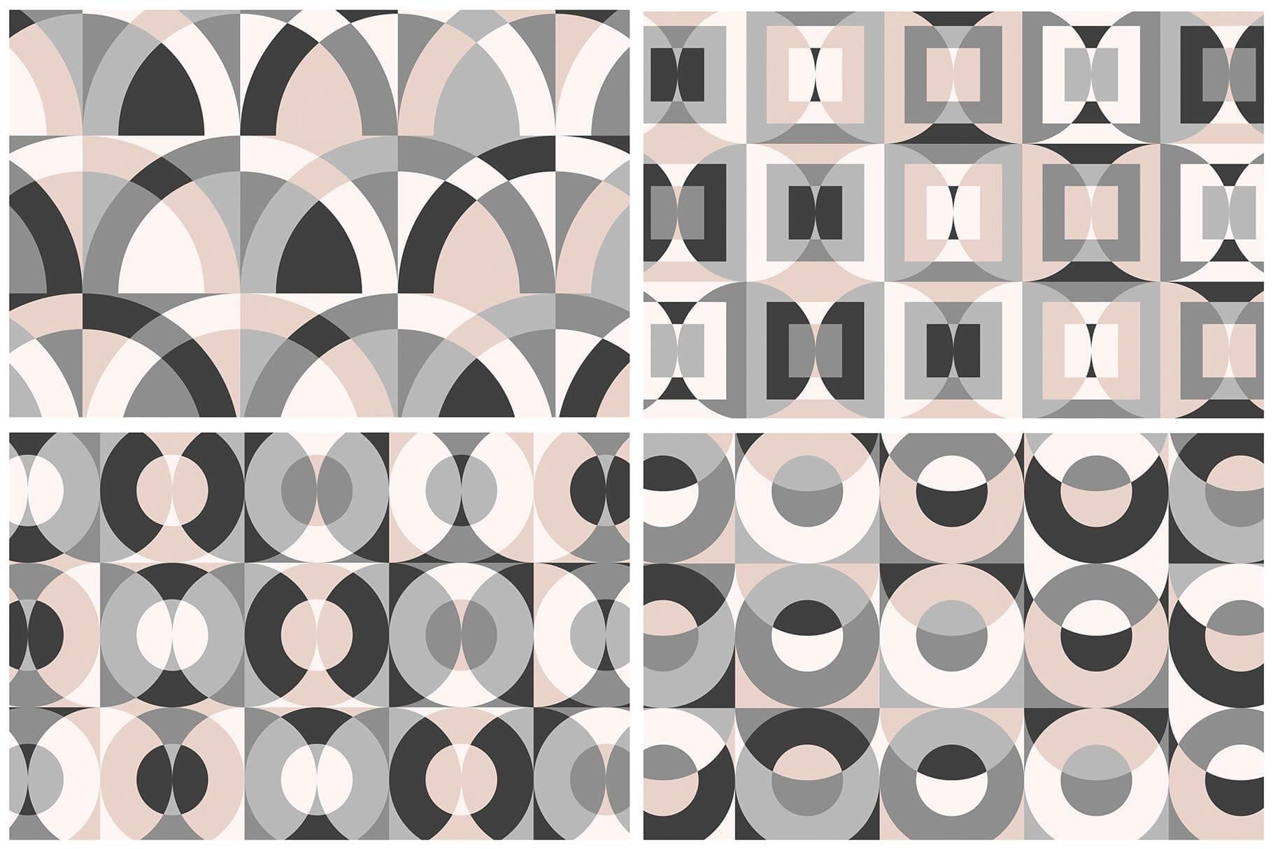 布艺面料装饰纹理图案花纹品牌辅助图形Geometric Play Patterns Tiles插图(11)