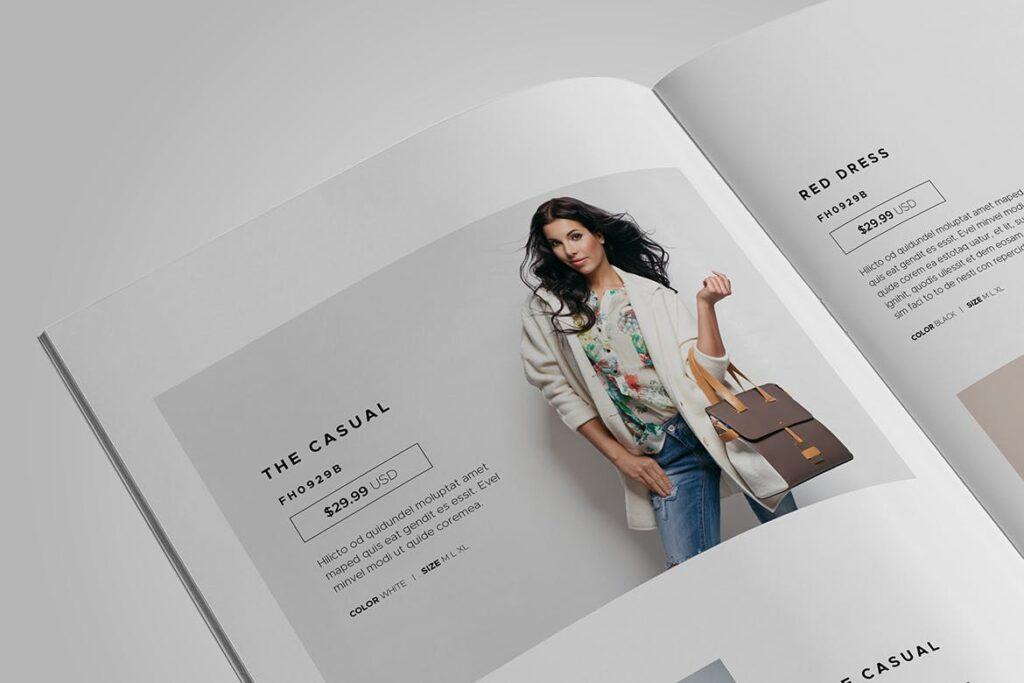时尚服装/产品目录画册模板Product Catalog Template插图(11)