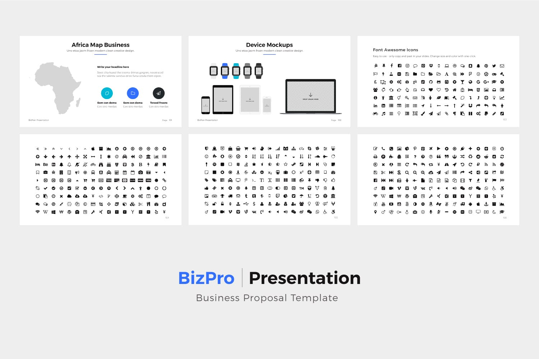 产品提案市场销售数据汇报BizPro Google Slide Presentation Template插图(12)