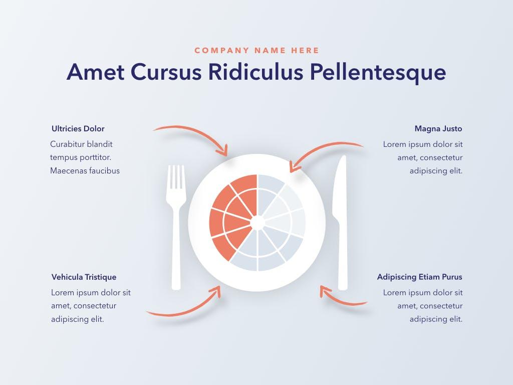 西餐料理品牌新菜品介绍PPT幻灯片模板Nutritious PowerPoint Template插图(13)