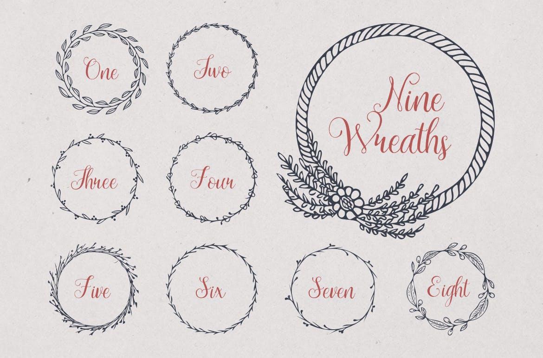 美食餐饮品牌宣传手绘矢量图案素材Ratatouille Sketched插图(13)