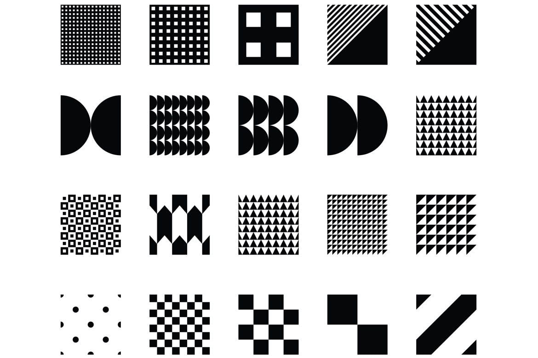企业品牌辅助图案装饰元素应用场景100 seamless geometric patterns插图(12)