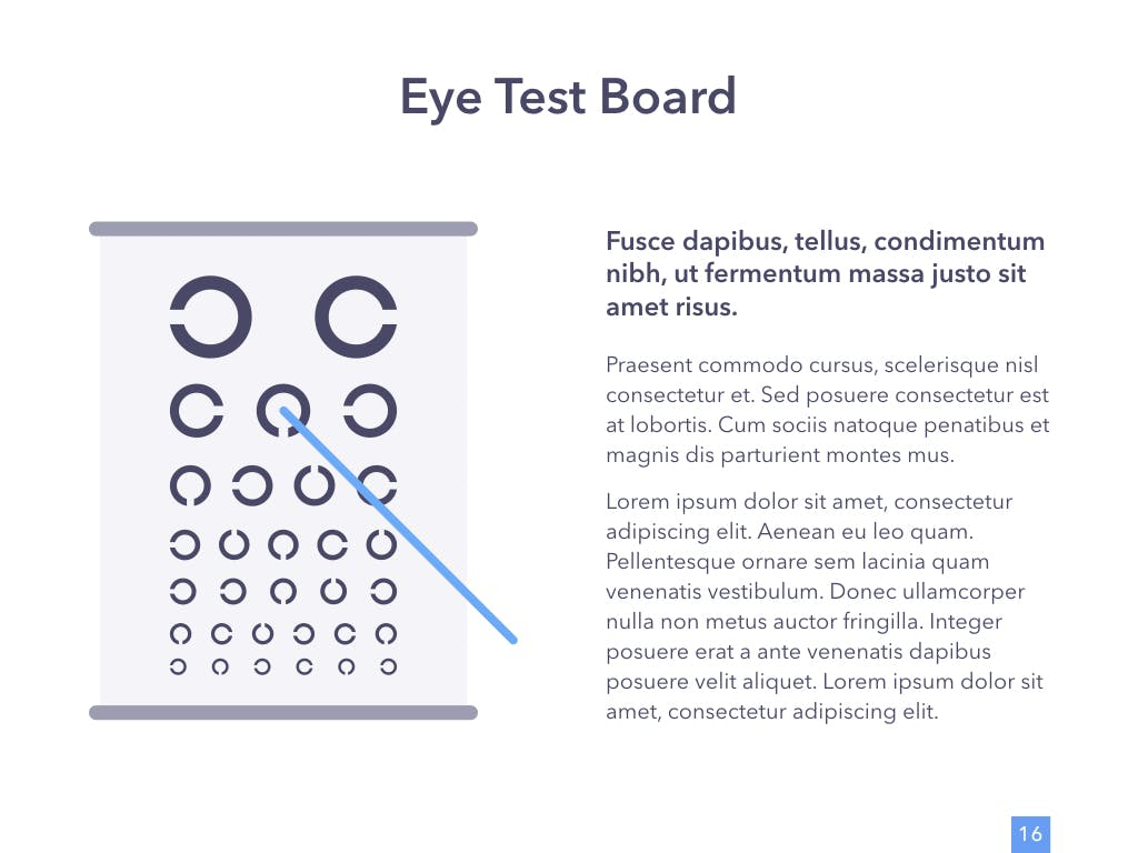 眼睛健康演讲活动PPT幻灯片模板Eye Health Keynote Template插图(11)