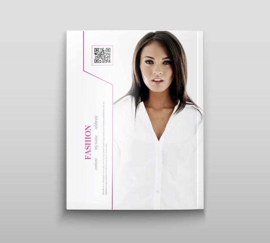 模特经纪或时装展览杂志模板素材Fashion Magazine R8C6UK插图(12)