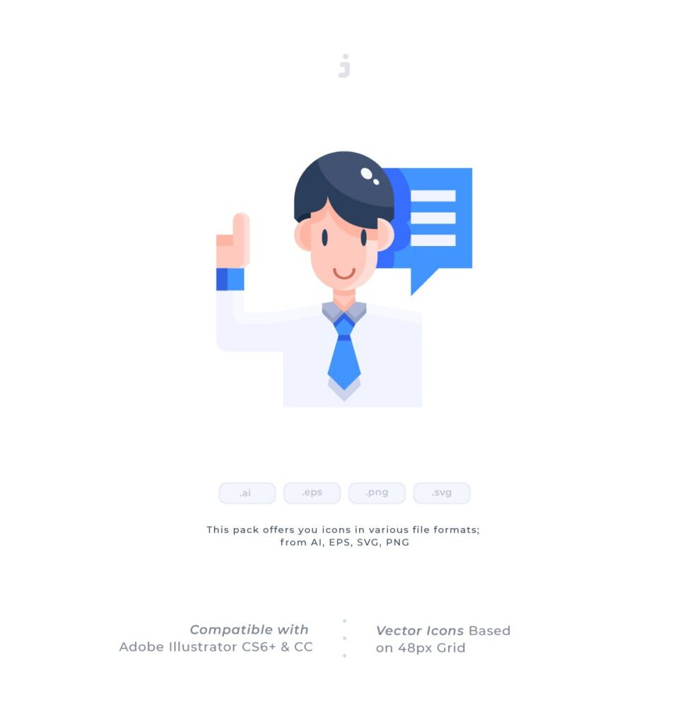 3个商务类数据传输相关扁平化图标素材30 Voting Icons Flat插图(1)