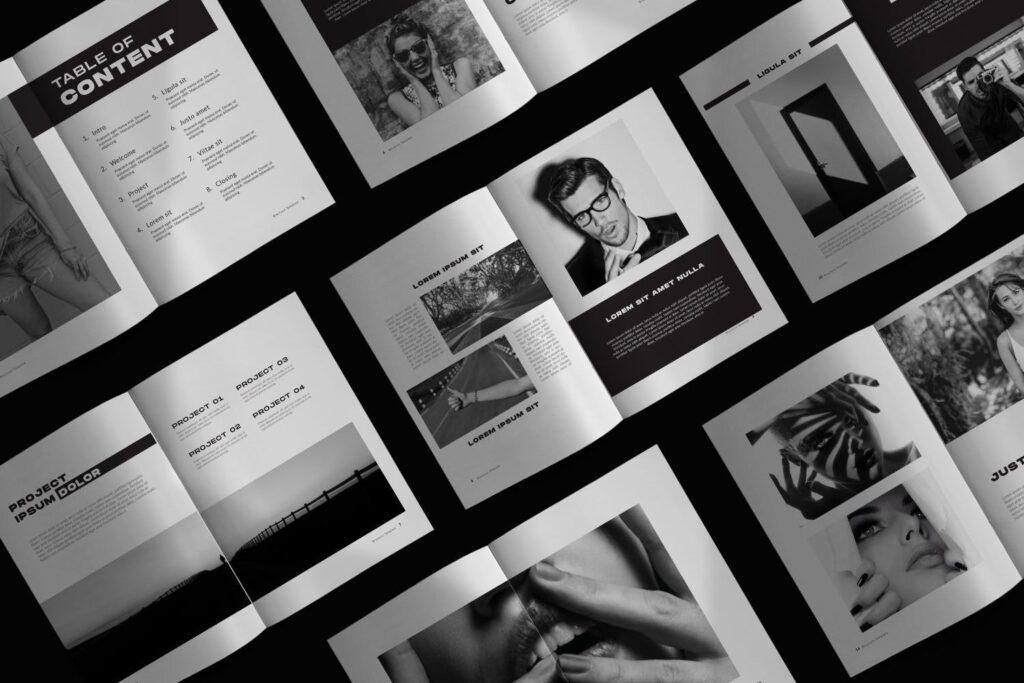 设计师工作/室内设计目录/产品目录/产品画册模板XL8RAPZ插图(1)