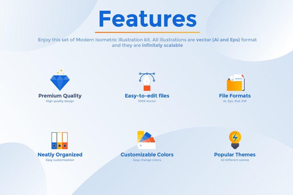 各种主题的大量登陆页面插图模板BIG Collection of Landing page templates插图(1)