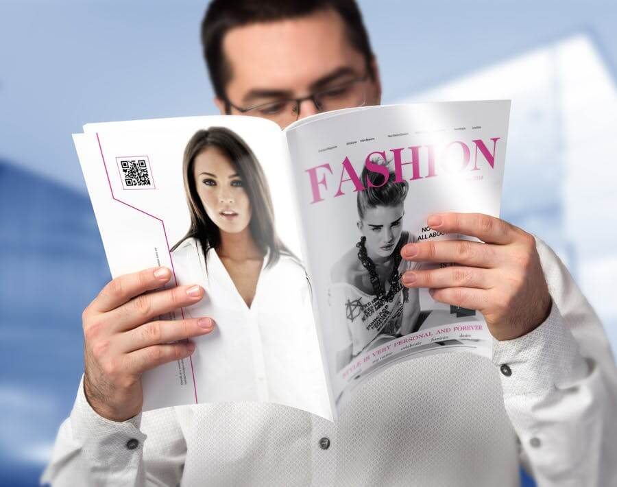 模特经纪或时装展览杂志模板素材Fashion Magazine R8C6UK插图(1)