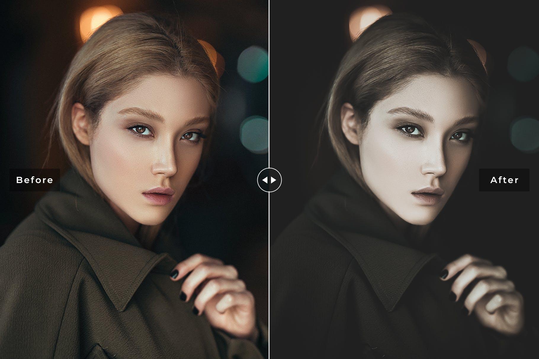 电影效果色调场景胶片效果处理LR预设Film Effect Mobile Desktop Lightroom Presets插图(1)