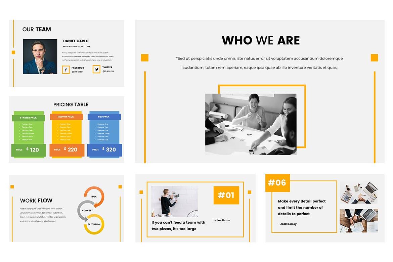 房地产公司活动策划PPT幻灯片模板Hanna Google Slides Presentation插图(1)