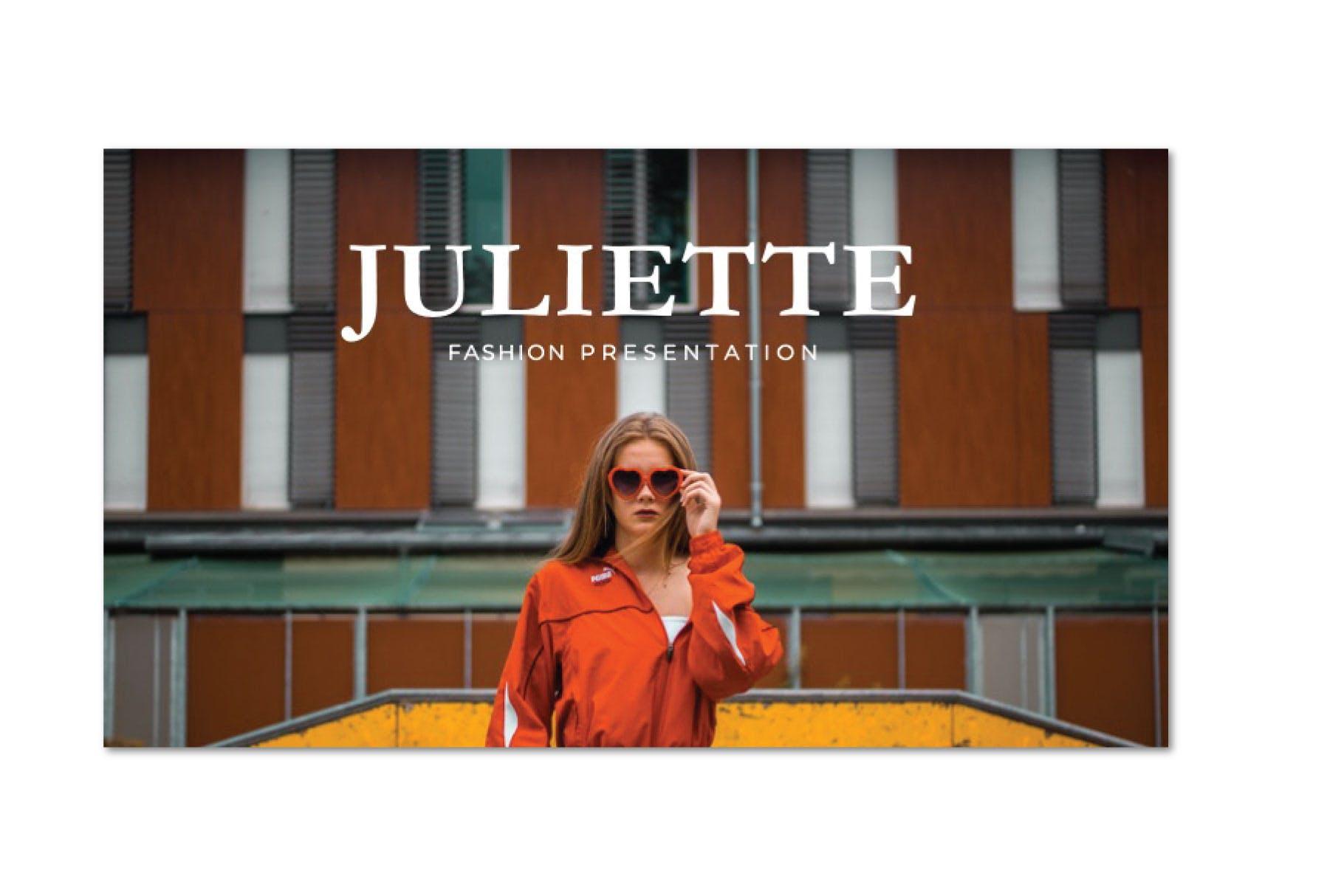 企业市场策划PPT幻灯片模板下载JULIETTE  Powerpoint Template插图(1)