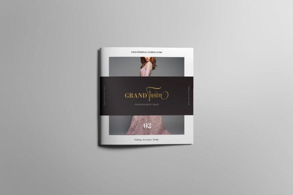 香水珠宝产品简介/目录画册模板Lookbook Product Catalog插图(1)