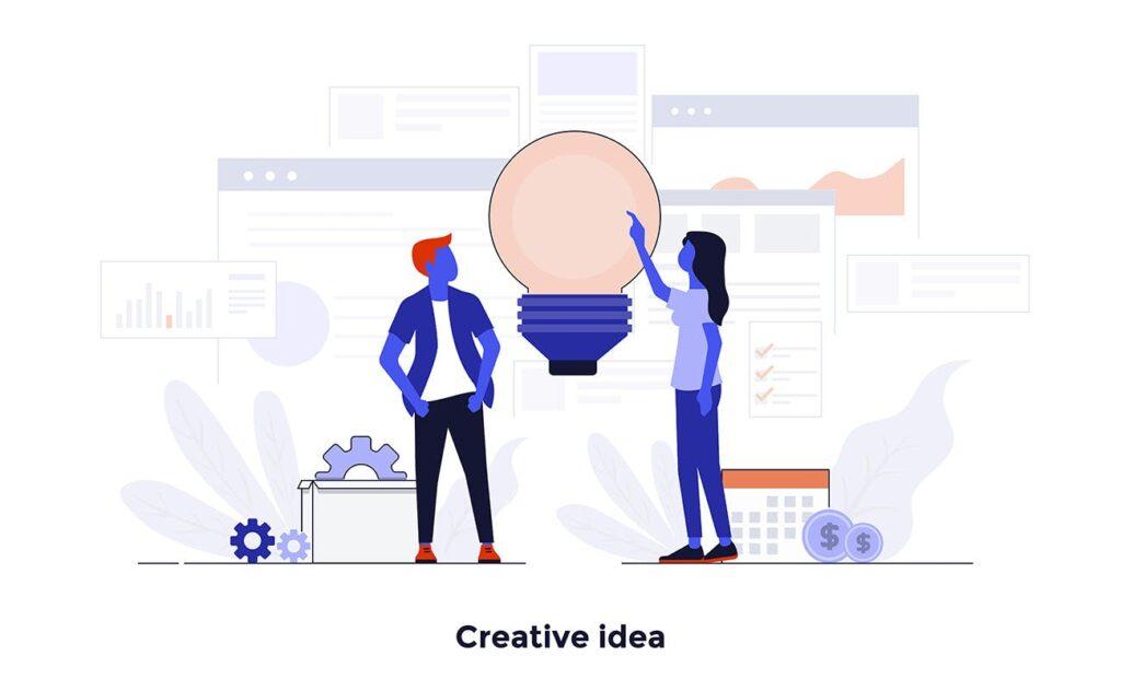 现代扁平化的设计理念和经营理念网站插图Modern Flat Design People And Business Concepts Uz9yxc插图(1)