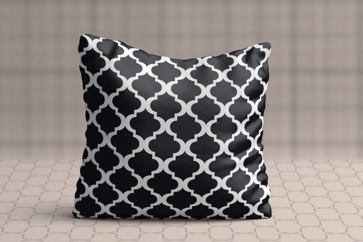 15个摩洛哥风格无缝矢量模式重复排列组合Moroccan Style seamless vector patterns vol1插图(1)