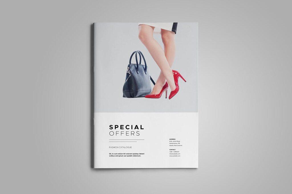 时尚服装/产品目录画册模板Product Catalog Template插图(1)