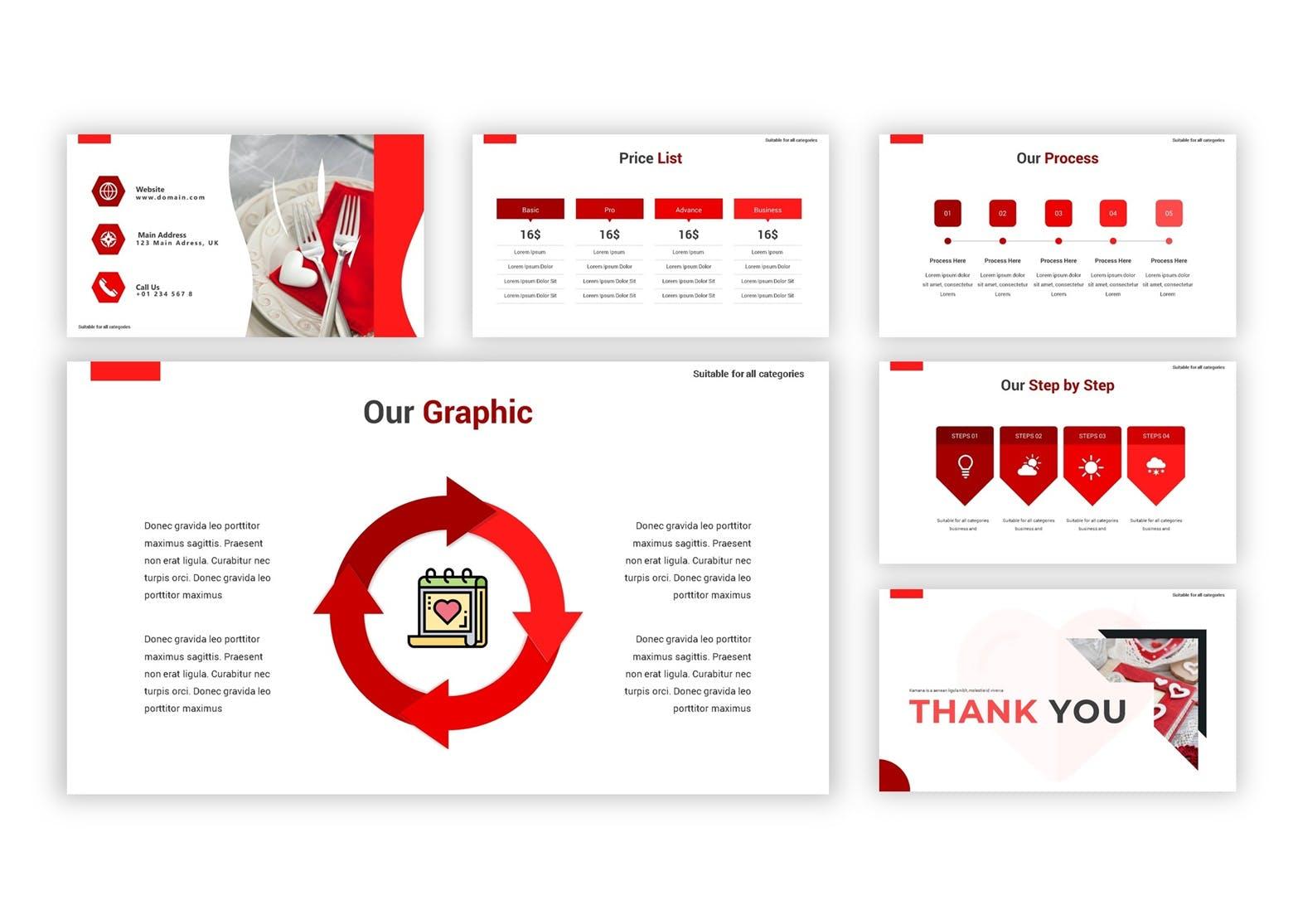 产品市场调研数据集PPT幻灯片模板下载Valentine Google Slides Template插图(1)