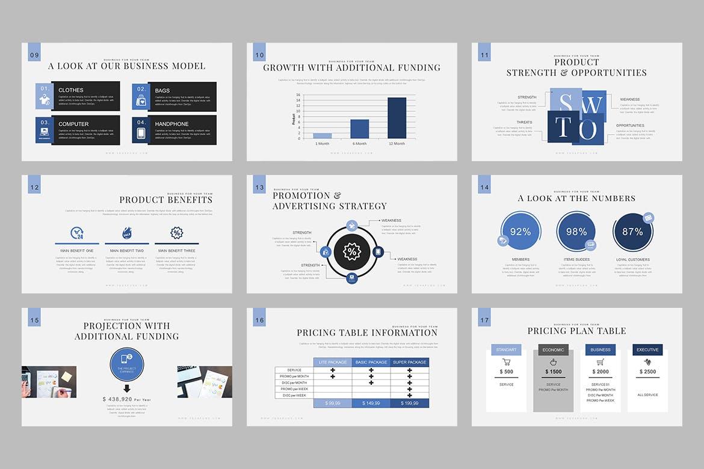 建筑商务创意主题演讲PPT幻灯片模板下载Vegapunk Pitch Deck Keynote Template插图(1)