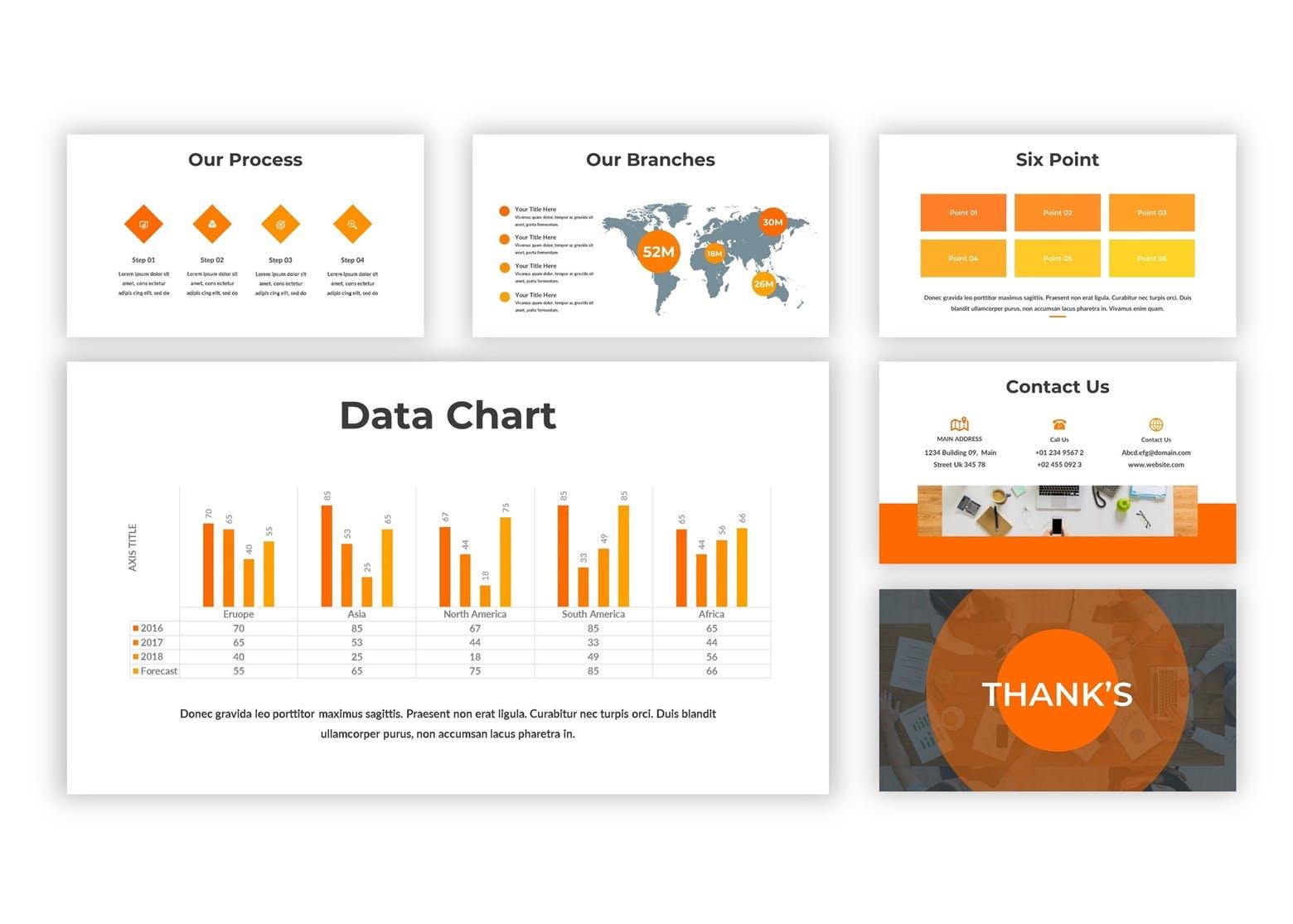 市场策划提案PPT幻灯片模板下载Worksian Google Slides Template插图(1)