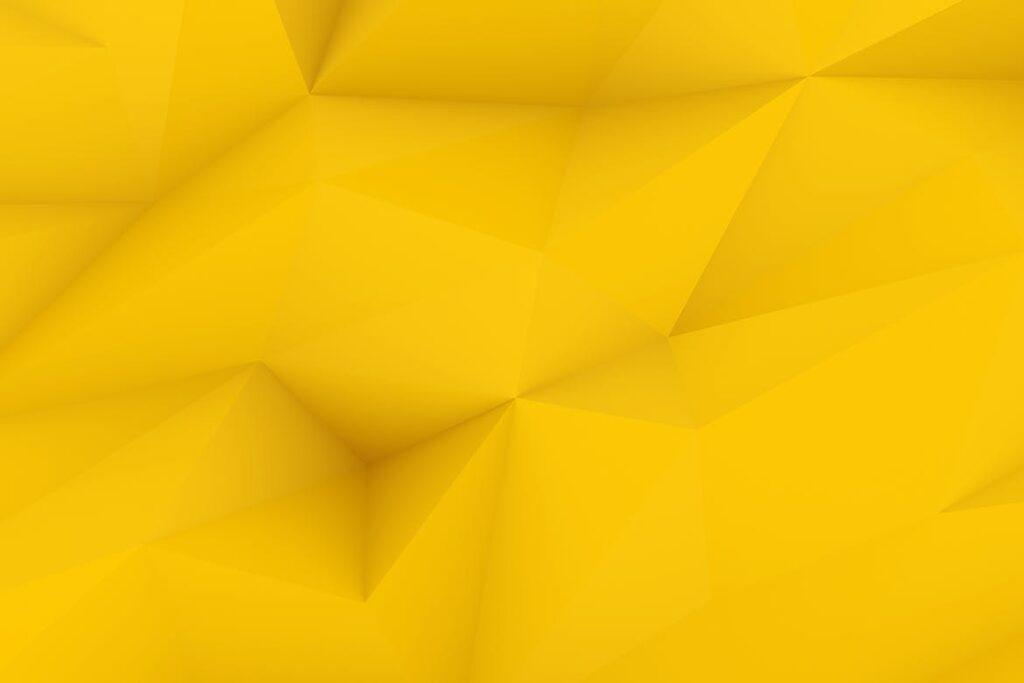 抽象简约几何构成背景高清图片下载Yellow Polygon Backgrounds插图(1)
