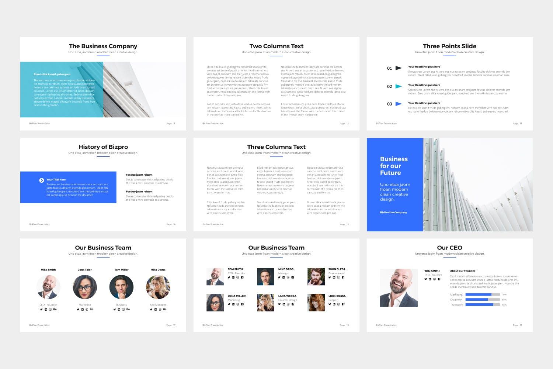 产品提案市场销售数据汇报BizPro Google Slide Presentation Template插图(2)