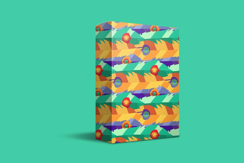 明亮的波西米亚图案插图抱枕装饰图案素材Bright Boho Patterns插图(1)