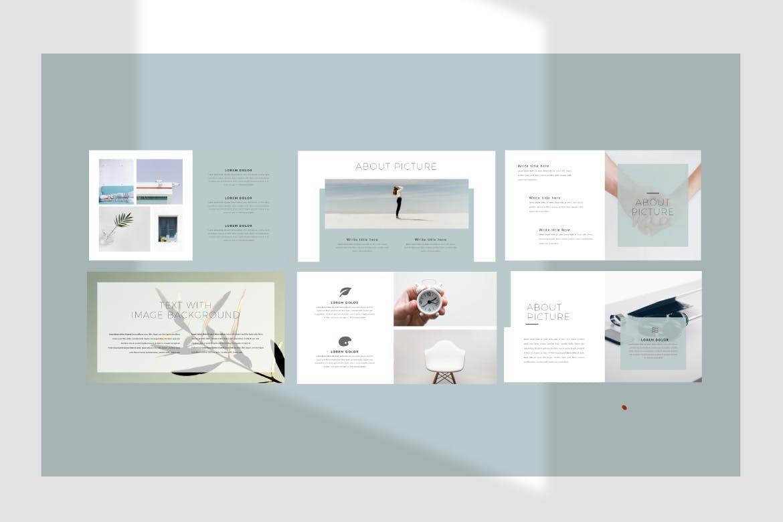 优雅创意版式设计PPT幻灯片模板下载Catherine Powerpoint Template插图(2)