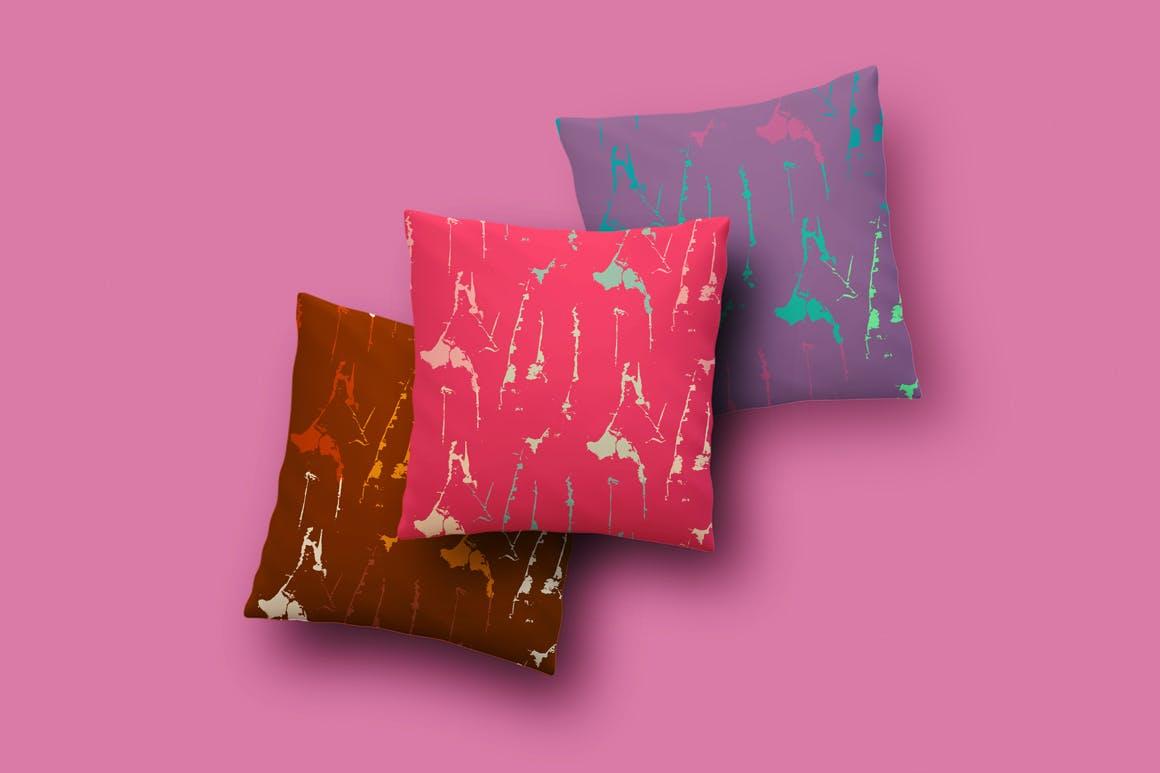 色彩斑斓的油漆摇滚纹理Colorful Grunge Textures插图(2)