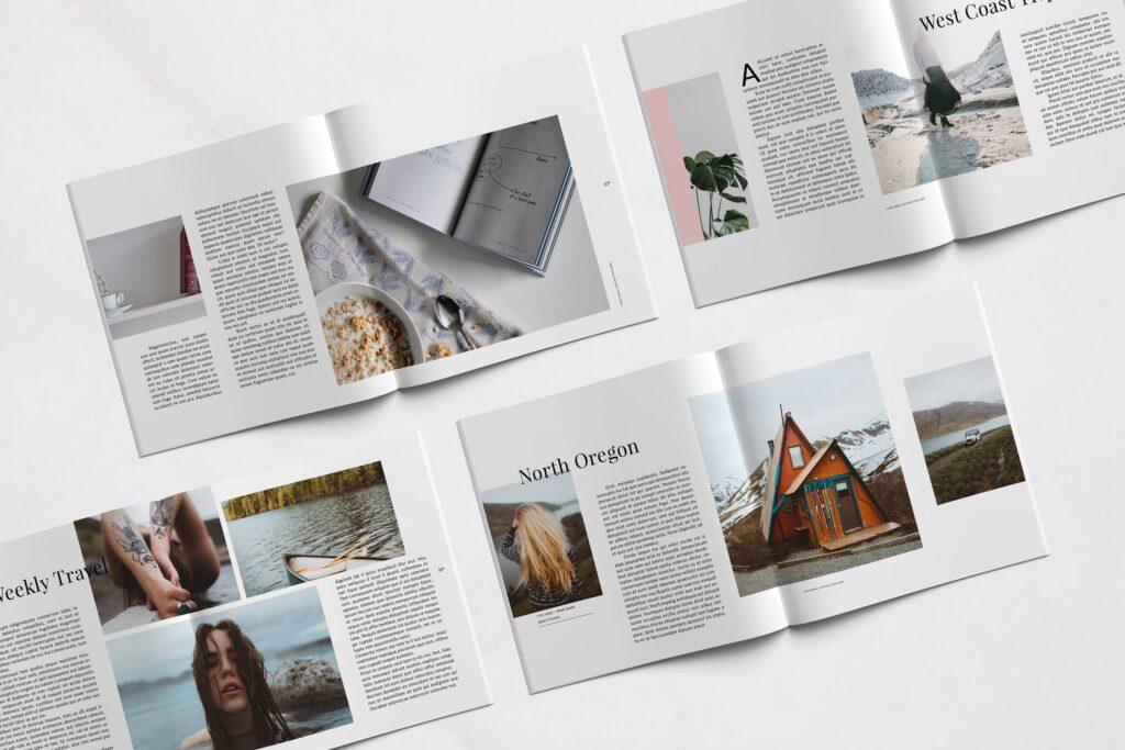极简主义的时尚生活和旅游杂志Emily Magazine插图(2)