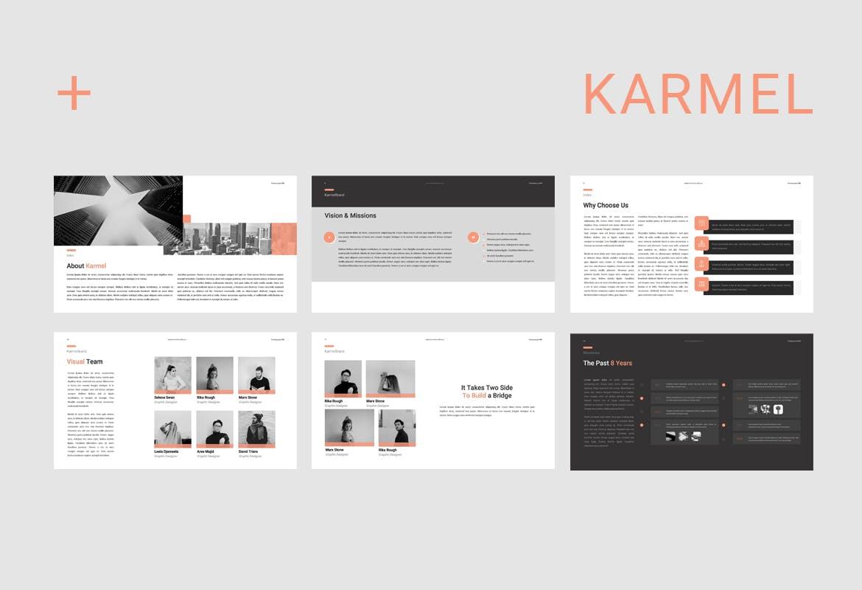 跨国企业品牌主题介绍幻灯片模板Karmel Keynote插图(2)