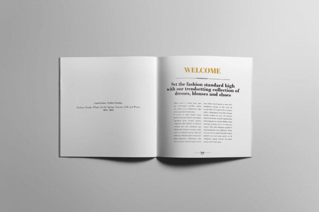 香水珠宝产品简介/目录画册模板Lookbook Product Catalog插图(2)